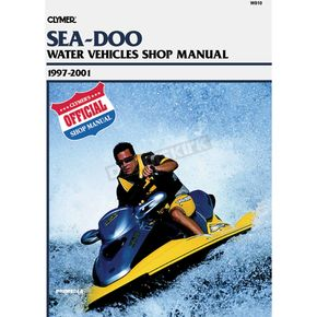Clymer Sea-Doo Service Manual - W810