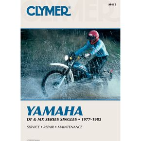 Clymer Yamaha Repair Manual - M412