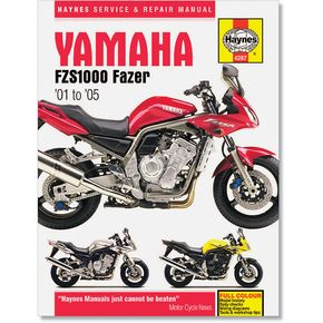 Haynes Yamaha FZS1000 FZ1 Repair Manual - 4287