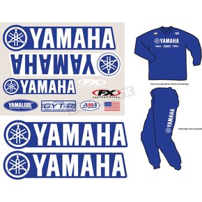 Factory Effex Yamaha Factory Rider Gear Kit - FX08-82210