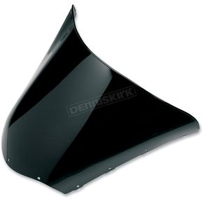 Sno-Stuff 16 3/4 in. Low-Cut Gloss Black Windshield - 450-619-50