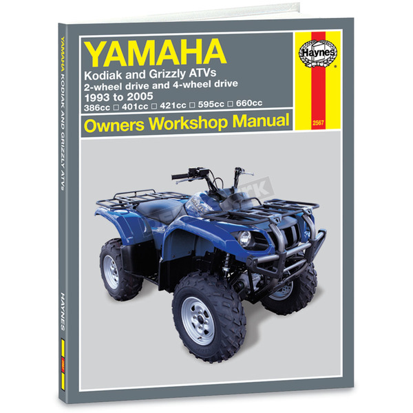 Haynes Yamaha Repair Manual - 2567