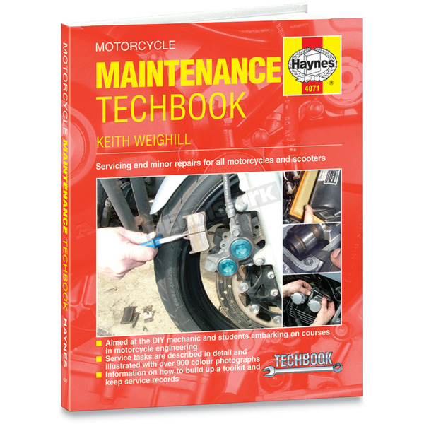 Haynes Motorcycle Maintenance Techbook - 4071