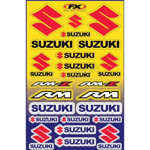 Factory Effex Suzuki Generic Graphic Kit - 10-68430