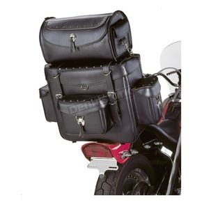 Tour Master Cruiser II XLarge Sissy Bar Bag w/Studs - 78-204