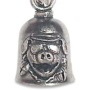 Hot Leathers Pig Ride Bell - BEA1001