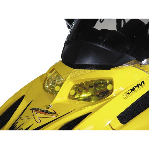 Sportech Yellow Headlight Covers - 50301011
