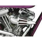 The Bullet Air Cleaner Kit with Chrome Elbow  - TS-7900-BCHA