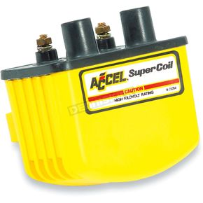 Accel Yellow HEI Super Coil Kit for Single-Fire w/Electronic Ignition - 3.0 ohm - 140408