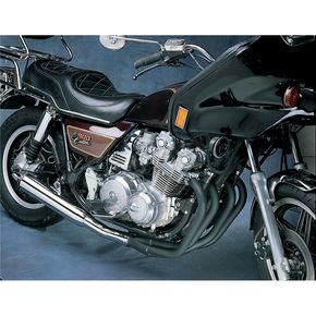 Mac 4-into-1 Black Header/Chrome Canister Style Exhaust System - 801-2601