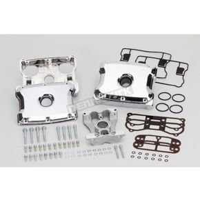Chrome Die Cast Two-Piece Rocker Box Kit - 90-4095
