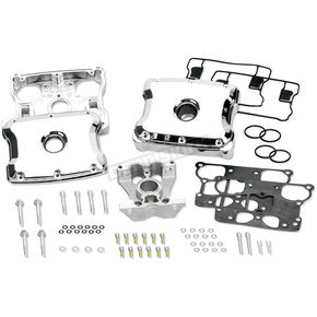 Chrome Die Cast Two-Piece Rocker Box Kit - 90-4110