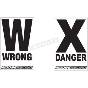 Moose Danger/Wrong Way Course Signs - 9901-0319