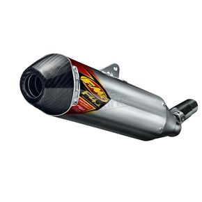 FMF Factory 4.1 RCT Titanium Slip-On Muffler w/Carbon Fiber End Cap - 045508