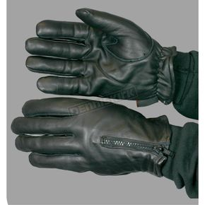 Hot Leathers Fleece Lined Leather Gloves - GVM1008XXL