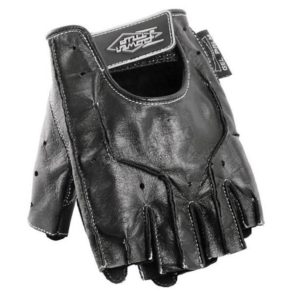 Power-Trip Graphite Leather Gloves - 437-1004