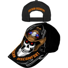 Hot Leathers Southern Discomfort Hat - BCA1029