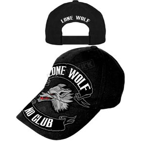 Hot Leathers Lone Wolf Hat - BCA1030