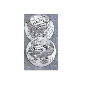 Drag Specialties Chrome Gas Cap Cover - DS-390126