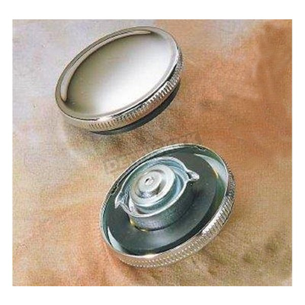 Drag Specialties Original Style Non-Vented Gas Cap - DS-390131