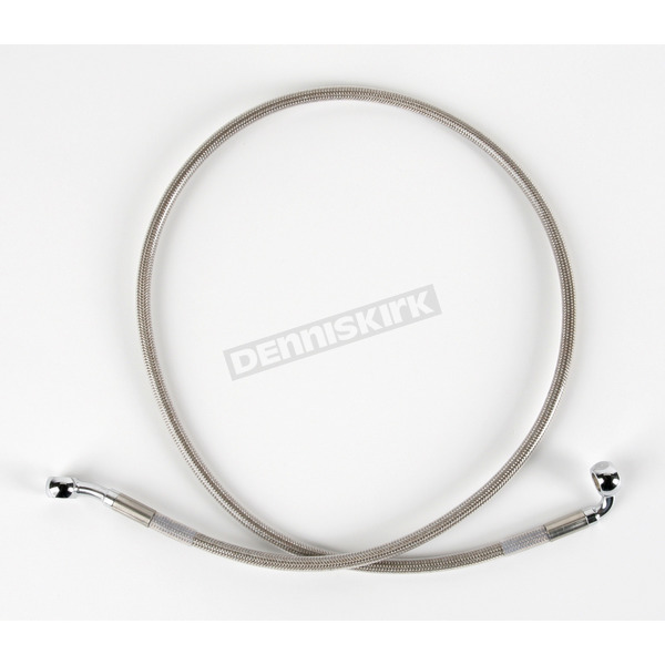 Drag Specialties Front Braided Stainless Steel Brake Line Kit - 1204-2737