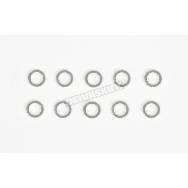 Drag Specialties 3/8 in. Crush Washers (10-pk) - DS-098105