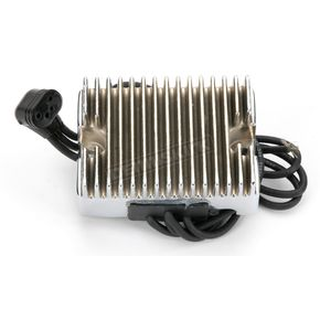 Accel Chrome Voltage Regulator - 201100C