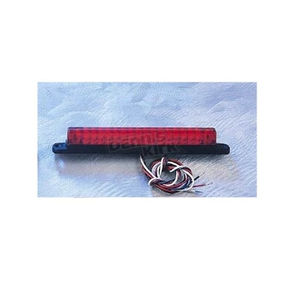 Back Off Red LED Light Bar with Black Base-6 in. - 02010