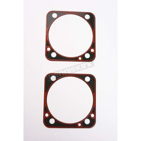 Genuine James Base Gasket (.020 in. Metal, 4 in. Bore S&S Cylinders - 16777-96-X