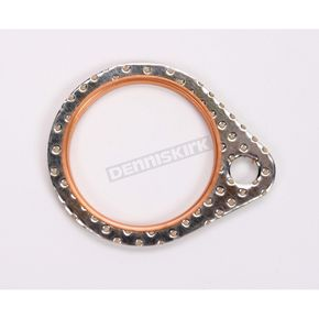 Genuine James Steel Core Exhaust Gasket  - 65834-68-SC