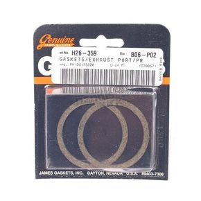 Genuine James Hi-Performance Port Gasket Set - 17048-98