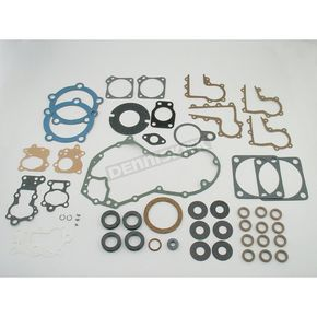 Genuine James Complete Gasket Set w/Blue Teflon Head Gaskets - 17028-36