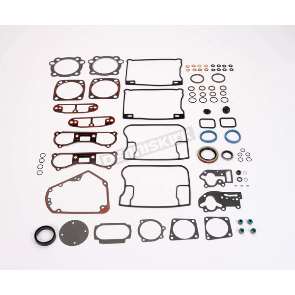 Genuine James Motor Gasket Set (Metal Base/Rocker Gaskets) - 17041-92-A
