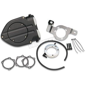 Kuryakyn Wrinkle Black Hypercharger Air Cleaner - 9980