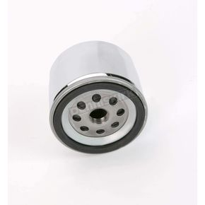 Drag Specialties Chrome Oil Filter - 0712-0006