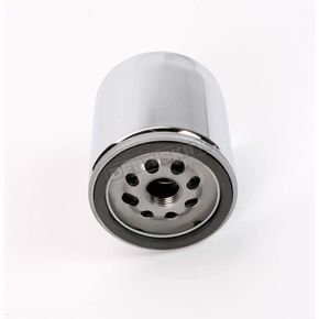 Drag Specialties Chrome Oil Filter - 0712-0011