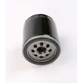 Drag Specialties Black Oil Filter - 0712-0022