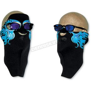 Wicked Wear Neoprene Cold Flames Cool Weather Full Face Mask - 4007