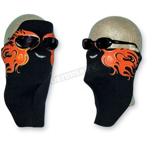 Wicked Wear Neoprene Hot Flames Cool Weather Full Face Masks - 4006