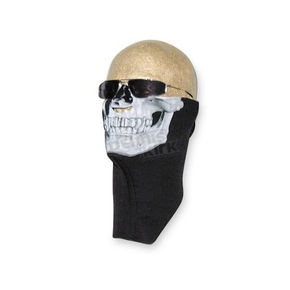 Wicked Wear Neoprene Skull Cold Weather Half Face Mask - 2501