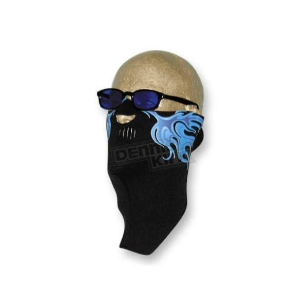 Wicked Wear Neoprene Cold Flames Cool Weather Half Face Masks - 2507