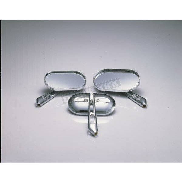 Kuryakyn Chrome Magnum Mirror Set - 1430