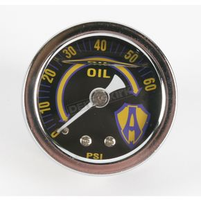 Arlen Ness Replacement Ness Liquid-Filled Oil Gauge - 15-655