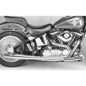 Thunderheader 2 into 1 High Performance Exhaust System for Models w/Floorboards - 1014