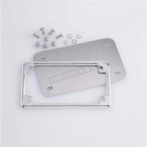 License Plate Holder and Back Plate Set - 9166