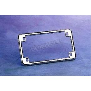 Drag Specialties Chrome License Plate Frame - DS-270220