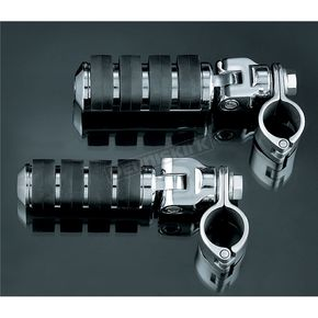 Kuryakyn Small ISO-Pegs with Clevis & 1 1/4 in. Clamps - 8032