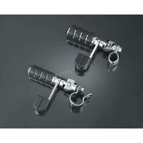 Kuryakyn ISO-Stirrups with Magnum Quick Clamps and Large ISO-Pegs - 8071