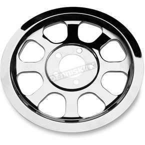 Custom Chrome Pulley Cover for Softail - 25425