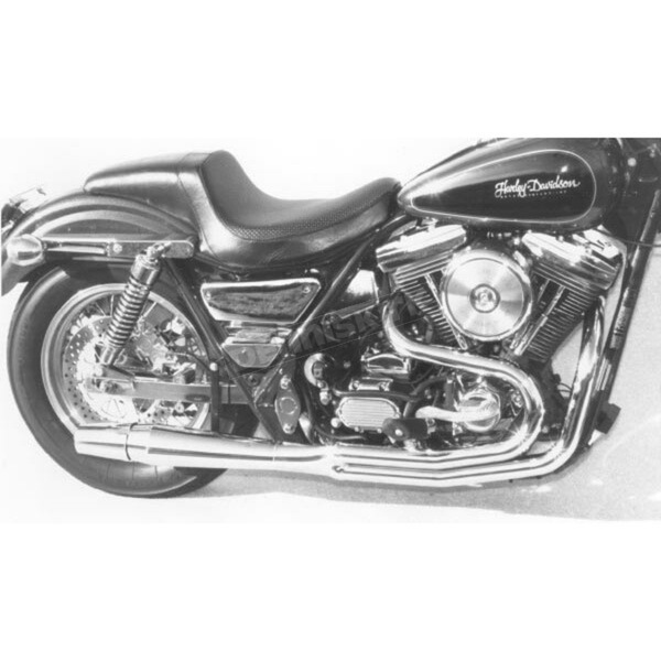 2 into 1 High Performance Exhaust System for Models w/Center Footpegs Only  - 1016